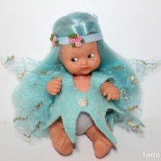 Muñecas Lesly y Barriguitas: BARRIGUITAS SILFIDE DE FAMOSA PECAS AZULES - AÑOS 80. Lote 148142698