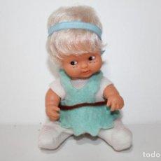 Muñecas Lesly y Barriguitas: BARIGUITAS DE FAMOSA SILFO O SILFIDE PECAS AZULES - AÑOS 80. Lote 148144382