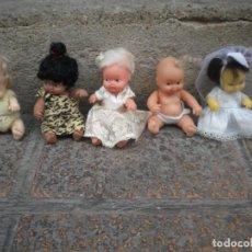 Muñecas Lesly y Barriguitas: LOTE DE 5 MUÑECAS BARRIGUITAS. Lote 148144806