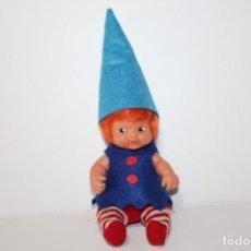 Muñecas Lesly y Barriguitas: BARRIGUITAS DEL BOSQUE GNOMO DE FAMOSA - AÑOS 80. Lote 148145278