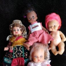 Muñecas Lesly y Barriguitas: LOTE DE MUÑECAS ANTIGUAS. Lote 148165785