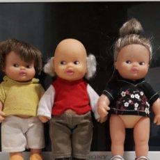 Muñecas Lesly y Barriguitas: BARRIGUITAS FAMILIA ABUELA ABUELA NIETO. Lote 149701889