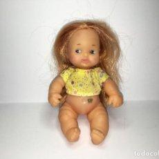 Muñecas Lesly y Barriguitas: MUÑECA BARRIGUITAS CON TATUAJE PELO LARGO NARANJA. Lote 150289462