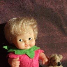 Muñecas Lesly y Barriguitas: ANTIGUA MUÑECA BARRIGUITAS . SOLO FAMOSA. FRESITA. Lote 151471434