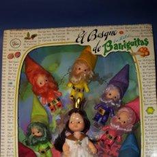 Muñecas Lesly y Barriguitas: BARRIGUITAS BLANCANIEVES Y LOS 7 ENANITOS - EL BOSQUE DE BARRIGUITAS. Lote 153522250