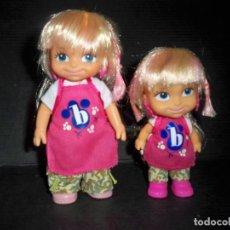 Bonecas Lesly e Barriguitas: MUÑECAS BARRIGUITAS FAMOSA HERMANAS MODERNAS. Lote 154994918