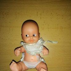 Muñecas Lesly y Barriguitas: ANTIGUA MUÑECA BARRIGUITA BEBE PELÓN DE FAMOSA. Lote 155870842