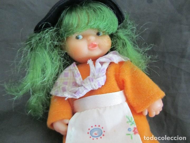 Muñecas Lesly y Barriguitas: BARRIGUITAS BRUJA PELO VERDE NECESITA LIMPIEZA - Foto 3 - 160379290
