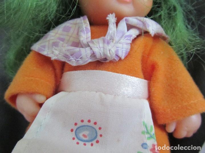 Muñecas Lesly y Barriguitas: BARRIGUITAS BRUJA PELO VERDE NECESITA LIMPIEZA - Foto 6 - 160379290
