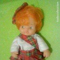 Muñecas Lesly y Barriguitas: BARRIGUITAS ESCOCIA GORRO Y VESTIDO SIN ETIQUETA FAMOSA NUCA 97 . Lote 160380062