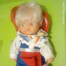 Muñecas Lesly y Barriguitas: BARRIGUITAS HOLANDESA O SIMILAR RUBIA PELO LARGO NUCA 97 VESTIDO SIN ETIQUETA . Lote 160387970