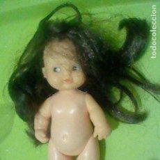 Puppen Lesly und Barriguitas - BARRIGUITAS MORENA PELO LARGO OJOS AZULES MUÑECA DE PIE NUCA 97 SIN VESTIDO - 160388714