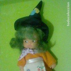 Puppen Lesly und Barriguitas - BARRIGUITAS BRUJA PELO VERDE VESTIDO GORRO PICO FAMOSA 97 - 160400298