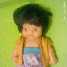 Puppen Lesly und Barriguitas - BARRIGUITAS MORENA OJOS MARRONES VESTIDO SIN ETIQUETA FAMOSA 97 - 160470262