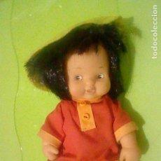 Puppen Lesly und Barriguitas - BARRIGUITAS CHINA ORIENTAS GORRO PLATO VESTIDO SIN ETIQUETA FAMOSA 97 OJOS MARRONES - 160511462