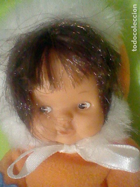 Muñecas Lesly y Barriguitas: BARRIGUITAS ESQUIMAL OJOS MARRONES VESTIDO CAPUCHA SIN ETIQUETA FAMOSA 97 - Foto 3 - 160523194