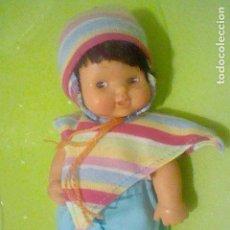 Muñecas Lesly y Barriguitas: BARRIGUITAS ANDINA PONCHO GORRO FAMOSA 97 . Lote 160525910