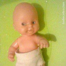 Muñecas Lesly y Barriguitas: BARRIGUITAS PELON BEBE OJOS AZULES FAMOSA PANAL. Lote 160547838