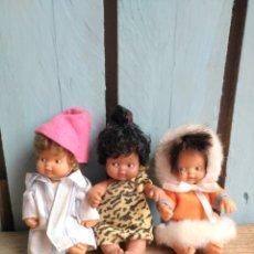 Muñecas Lesly y Barriguitas: LOTE 3 BARRIGUITAS DEL MUNDO. Lote 172889670