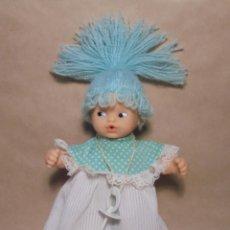Muñecas Lesly y Barriguitas: MUÑECA BARRIGUITAS MIMOS DE FAMOSA - VERDE - BLANDITA. Lote 161394194