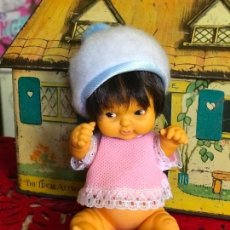 Muñecas Lesly y Barriguitas: BARRIGUITAS INDIO AÑOS 70 FAMOSA ÉPOCA NANCY SE VENDE DESNUDO. Lote 162510838