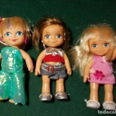 Muñecas Lesly y Barriguitas: MUÑECA FAMOSA BARRIGUITAS LOTE DE 3. Lote 162551826