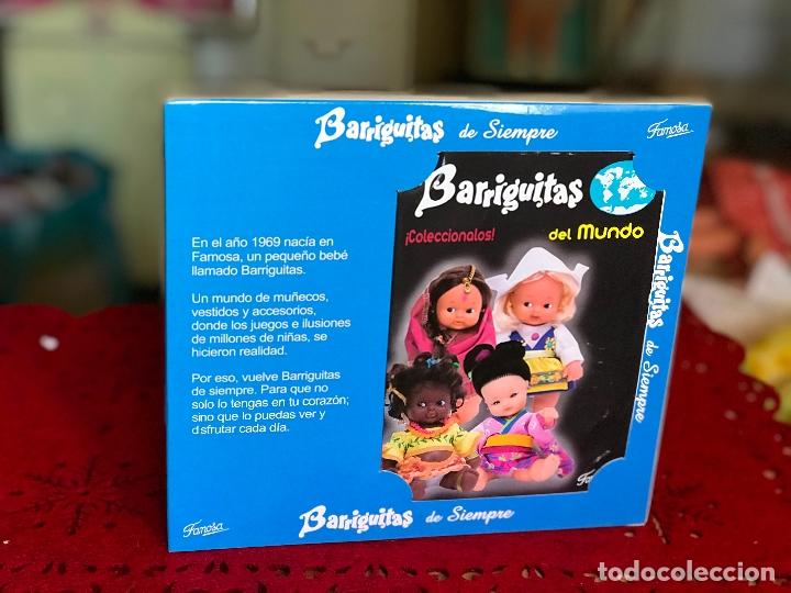Muñecas Lesly y Barriguitas: PAREJA DE BARRIGUITAS POR EL MUNDO REEDICIÓN FAMOSA ÉPOCA NANCY EN CAJA - Foto 3 - 166036798