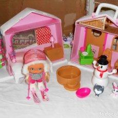 Muñecas Lesly y Barriguitas: BARRIGUITAS - CABAÑA EN LA MONTAÑA. Lote 166201086