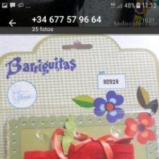 Muñecas Lesly y Barriguitas: BLISTER BARRIGUITAS CHEYANE ROJO. Lote 166939673