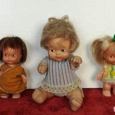 Muñecas Lesly y Barriguitas: LOTE 5 MUÑECOS PEQUEÑOS. 3 MARCA FAMOSA. 2 SIN IDENTIFICAR. ESPAÑA ( CIRCA 1970) . Lote 167121344