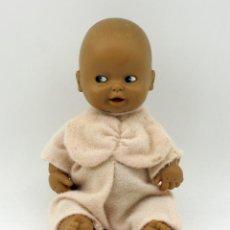 Muñecas Lesly y Barriguitas: BARRIGUITAS PELONCETE MULATO DE FAMOSA - AÑOS 70/80 - MADE IN SPAIN. Lote 167710864