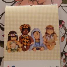 Muñecas Lesly y Barriguitas: CALENDARIO DE BARRIGA. Lote 168160226