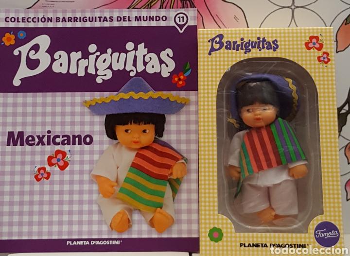 BARRIGUITA EN CAJA Y CERTIFICADO MEXICANO (Juguetes - Muñeca Española Moderna - Barriguitas)