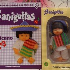Muñecas Lesly y Barriguitas: BARRIGUITA EN CAJA Y CERTIFICADO MEXICANO. Lote 168161998