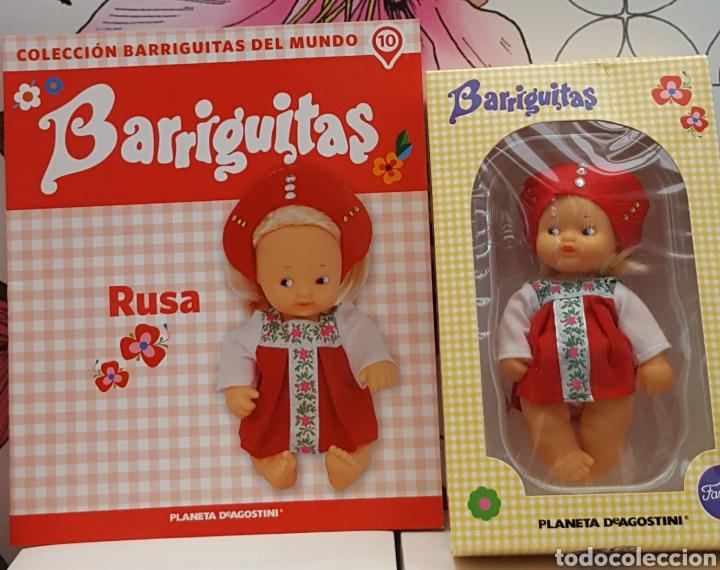 BARRIGUITA EN CAJA Y CERTIFICADO RUSA (Juguetes - Muñeca Española Moderna - Barriguitas)