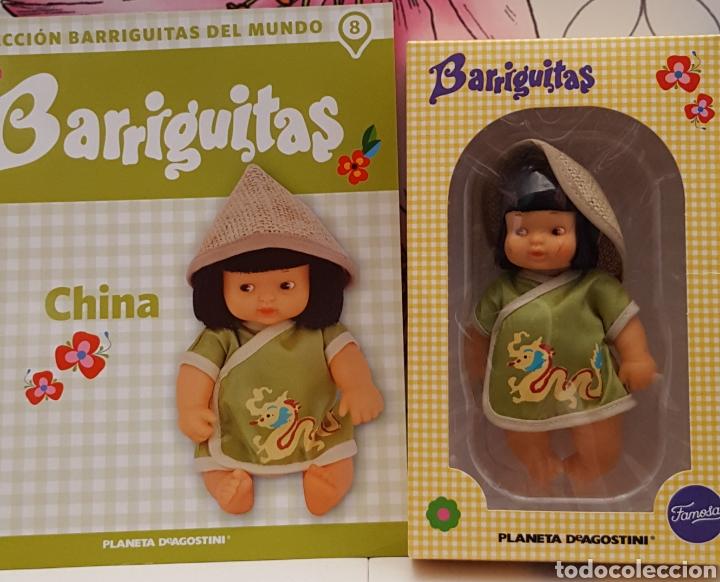 BARRIGUITA EN CAJA Y CERTIFICADO CHINA (Juguetes - Muñeca Española Moderna - Barriguitas)