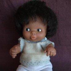 Muñecas Lesly y Barriguitas: ANTIGUA BARRIGUITAS FAMOSA , BESITOS NEGRA. Lote 168199252