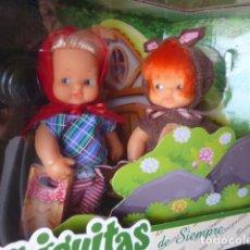 Muñecas Lesly y Barriguitas: BARRIGUITAS CAPERUCITA Y EL LOBO. REEDICIÓN. Lote 149546386