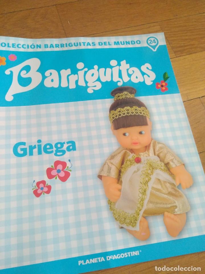 Muñecas Lesly y Barriguitas: BARRIGUITAS GRIEGA CON REVISTA - Foto 3 - 169210544