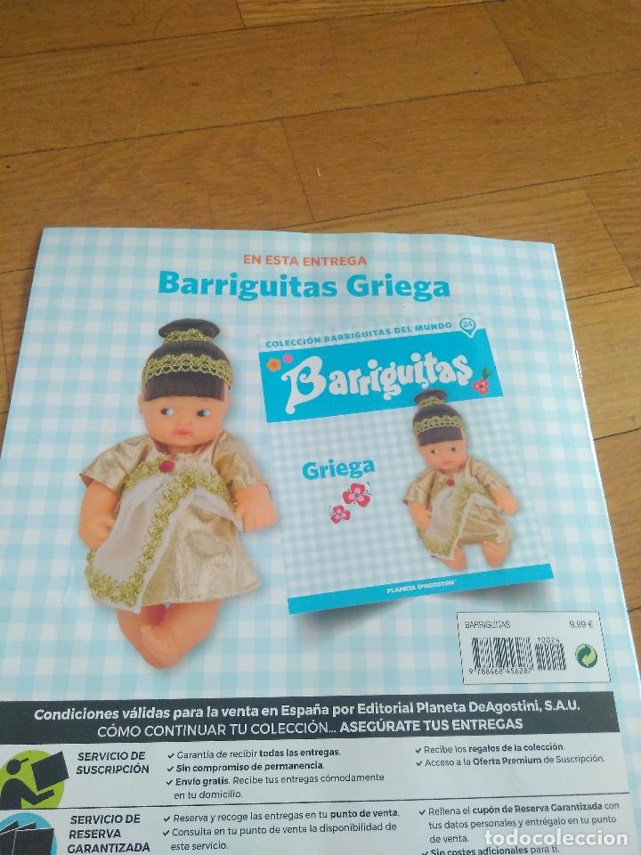 Muñecas Lesly y Barriguitas: BARRIGUITAS GRIEGA CON REVISTA - Foto 4 - 169210544