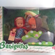 Muñecas Lesly y Barriguitas: BARRIGUITAS DE SIEMPRE, REEDICIÓN, FAMOSA, CAPERUCITA Y EL LOBO. NUEVA, SIN ABRIR. Lote 170088100