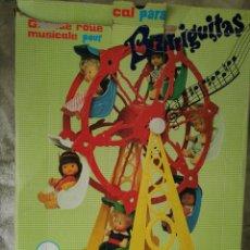 Muñecas Lesly y Barriguitas: NORIA MUSICAL BARRIGUITAS FAMOSA. Lote 170464217