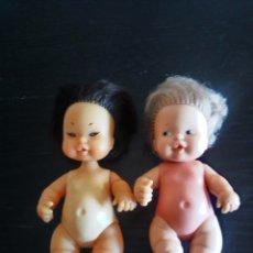 Muñecas Lesly y Barriguitas: LOTE DE DOS BARRIGUITAS DE FAMOSA NÚMERO 97 EN LA NUCA. Lote 171250819