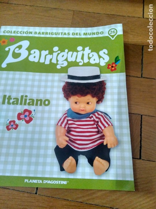 Muñecas Lesly y Barriguitas: MUÑECA BARRIGUITAS, ITALIANO, CON REVISTA - Foto 2 - 172533962