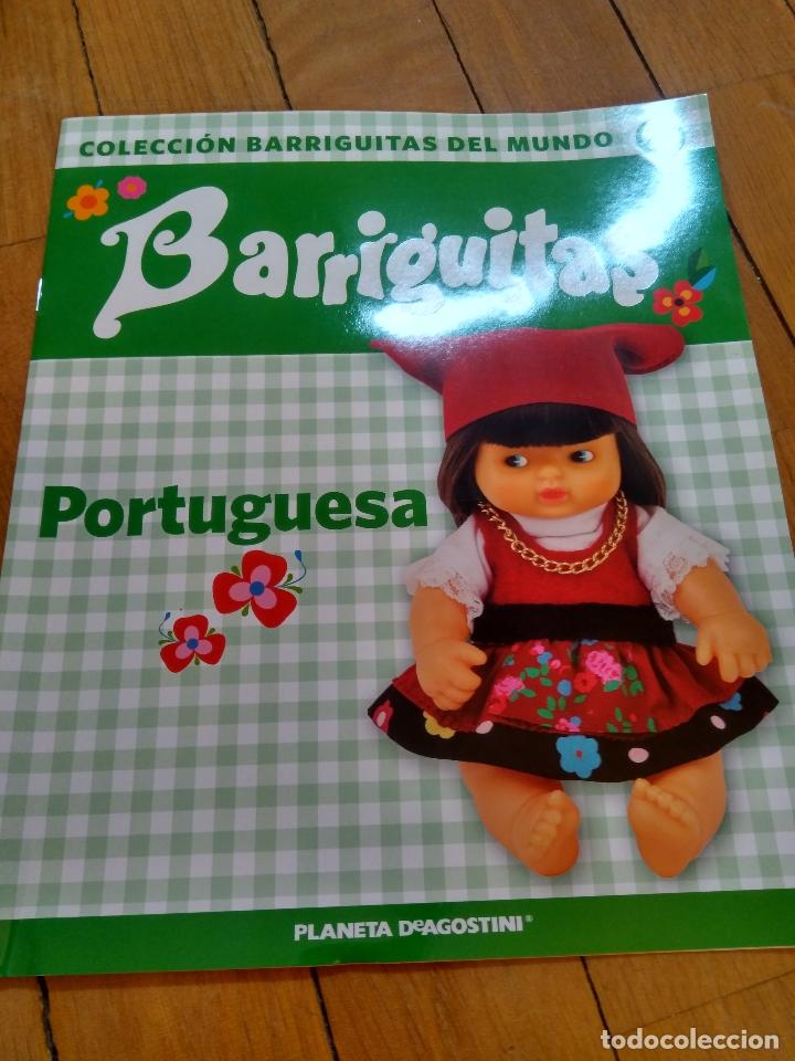 Muñecas Lesly y Barriguitas: MUÑECO BARRIGUITAS PORTUGUESA, CON REVISTA - Foto 2 - 172723980