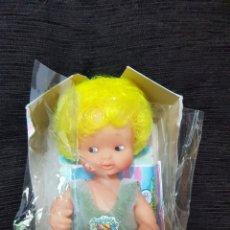 Muñecas Lesly y Barriguitas: BARRIGUITAS CAMBIA DE COLOR EN CAJA + CATALOGO. Lote 172833552