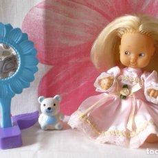 Muñecas Lesly y Barriguitas: BARRIGUITAS RUBIA CON MELENA-97 EN NUCA. Lote 173146768