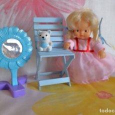 Muñecas Lesly y Barriguitas: BARRIGUITAS RICITOS DE ORO-SERIE CUENTOS-CON EL VESTIDO DE JULIETA. Lote 175760924