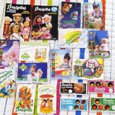 Muñecas Lesly y Barriguitas: LOTE 18 CATALOGOS BARRIGUITAS. Lote 175783832
