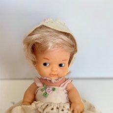 Muñecas Lesly y Barriguitas: ANTIGUA BARRIGUITAS RUBBIA CON SU FALDON CON SU ROPA ORIGINAL - FAMOSA BARRIGUITA . Lote 175941367